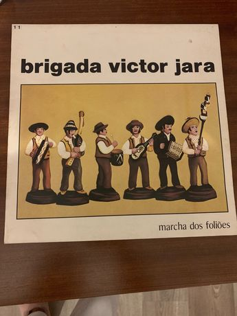 Vinil Brigada Victor Jara