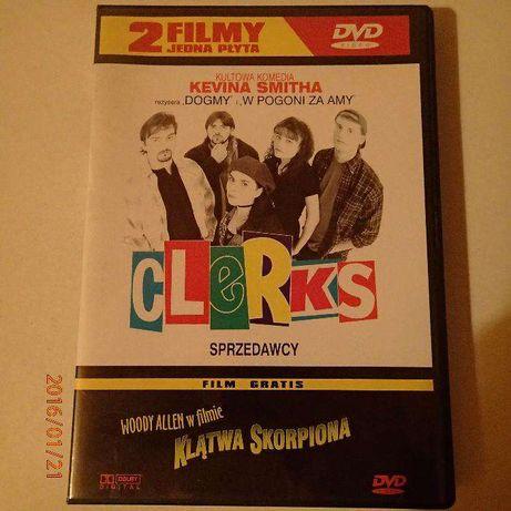 Clerks - Sprzedawcy + Klątwa Skorpiona | 2 filmy DVD | Zestaw filmów