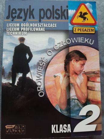 Język polski - opowieść o człowieku  - klasa 2