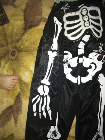 Костюм кощея скелета