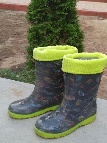 Силіконово-гумові чоботи 35 розмір
