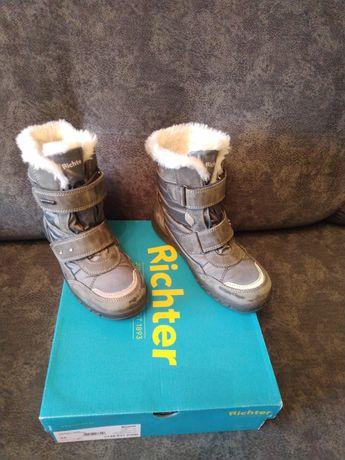 Зимние сапожки , ботинки Richter