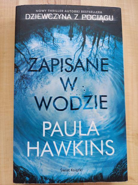 Zapisane w wodzie, Paula Hawkins, thriller, stan idealny!