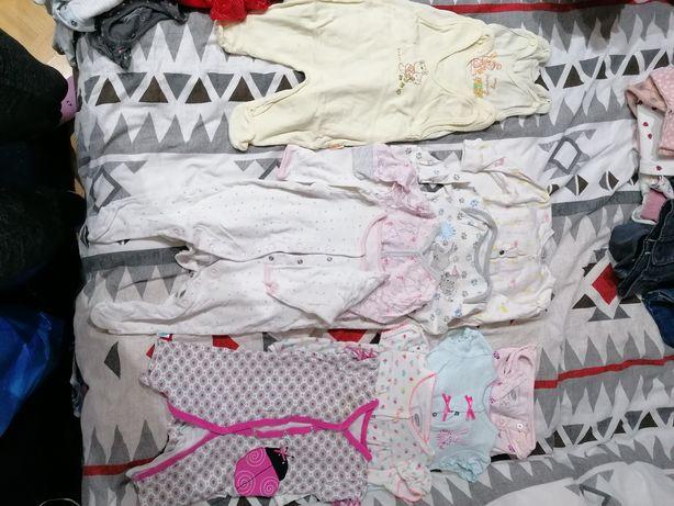 Ubranka niemowlęce 68 cm, 3-6 m dziewczece