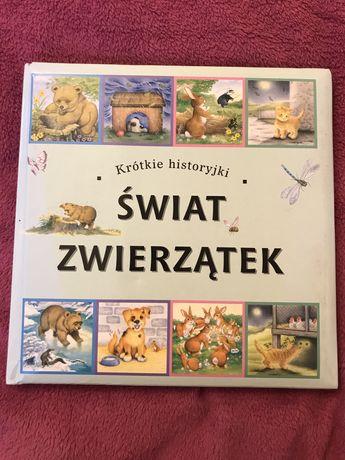 Krótkie historyjki świat zwierzątek książka dla dzieci