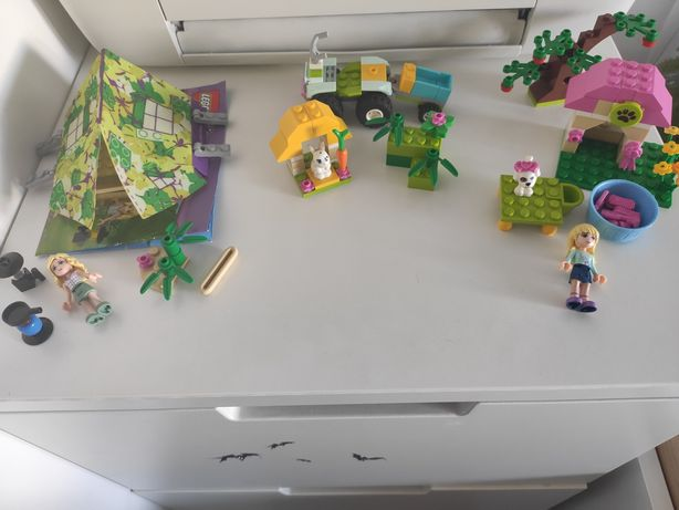 LEGO friends 3 zestawy 3934,3935,850967