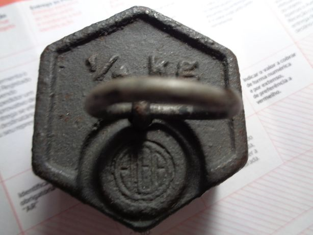 Peso Alba 1.4kg Ferro Fundido Reliquia Oferta Envio