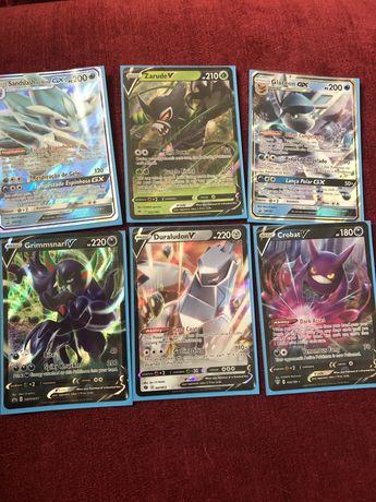 Vendo varias carta pokemon