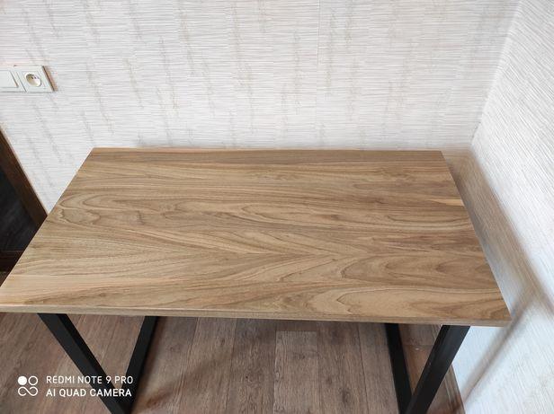 Стол в стиле лофт, стол с натурального дерева,