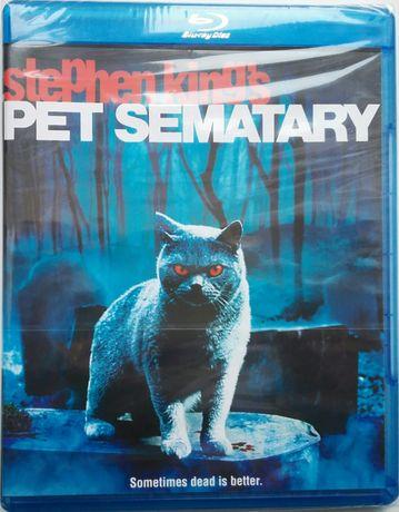 """""""Smętarz dla zwierzaków"""" / """"Pet Sementary"""" Blu-Ray USA bez PL"""