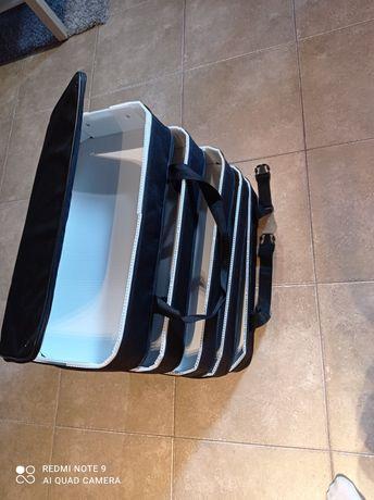 Torba kuferek,dla podróży, torba skladana!