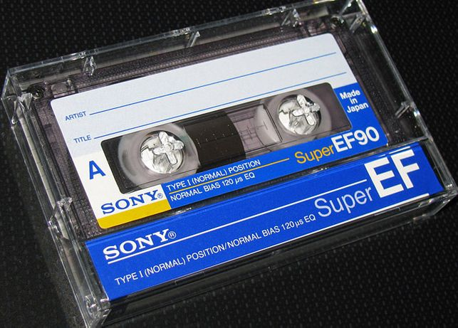 Аудио кассеты импортные с записями