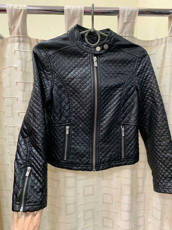 Куртка косуха еко-кожа 10-11 років