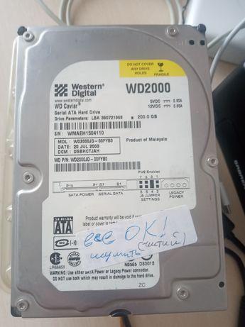 HDD 200 Gb WesternDigital Sata WD2000