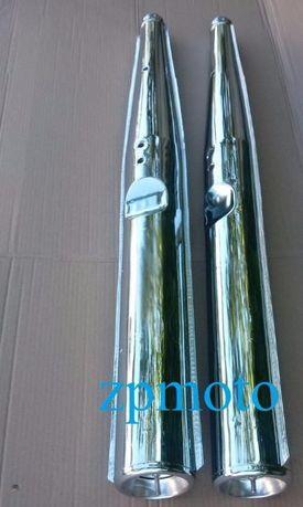 Трубы выхлопные Глушители JAWA 638 12 В Люкс Днепр (Мт) ИЖ Юпитер 4, 5