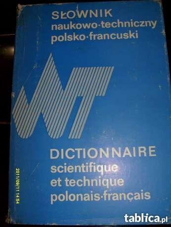 """""""Słownik naukowo-techniczny polsko-francuski"""""""