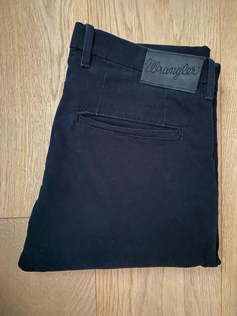 Nowe czarne eleganckie spodnie wrangler 32 32 meskie