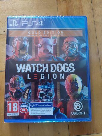 Nowa Watch Dogs Legion edycja Gold na PS4 we folii Polska wersja
