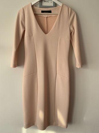 Beżowa Sukienka Reserved
