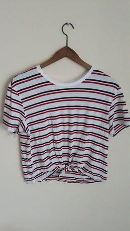Bluzeczka w paski marki H&M