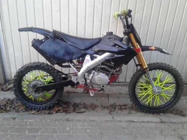 Cross Pocket Bike Mały Krosik Pitbike ZONGSHEN Rama Koła Silnik 250ccm