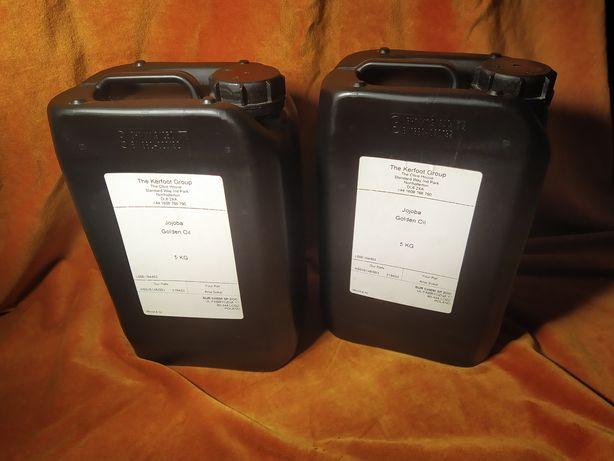 Olej jojoba - dwa kanistry po 5 kg OKAZJA