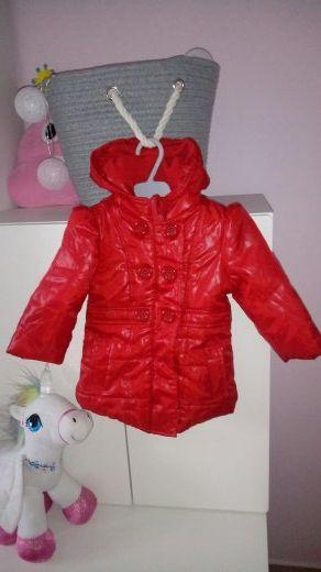 Earlydays czerwona kurteczka dla dziewczynki 9-12 m