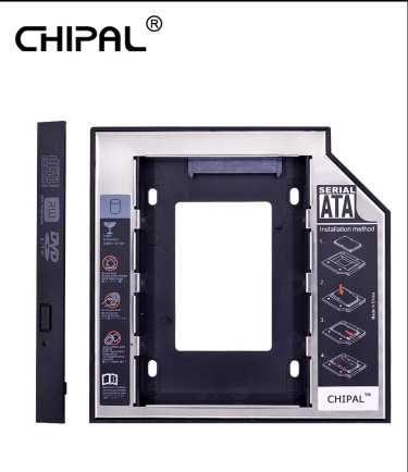 Caddy para cd/dvd adaptador ssd/hdd SATA 3.0 NOVO