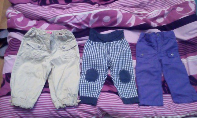 Spodnie na chłopca r.80
