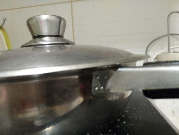 Припаять ручку сковороды