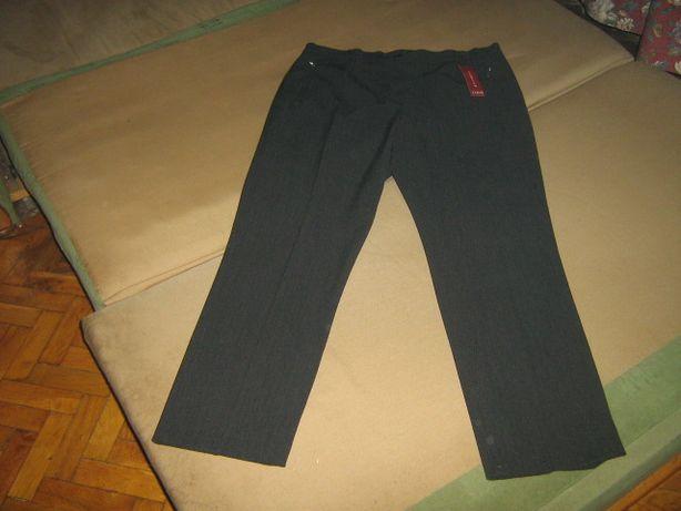 Eleganckie ciepłe szwedzkie spodnie damskie D&N roz. XXL