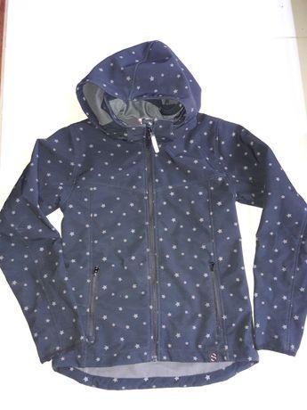 H&M softshell kurtka czarna 158
