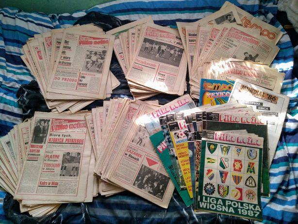 Piłka nożna -tygodnik lata 83,84,85.