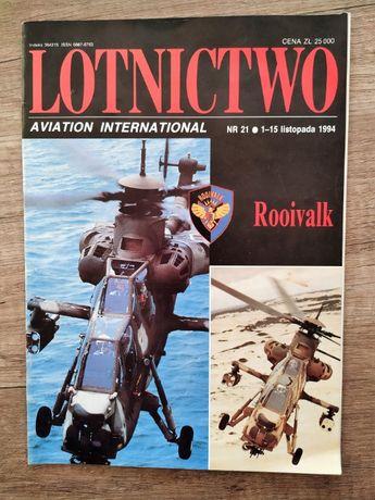 Magazyn Lotnictwo Avation International 21/1994