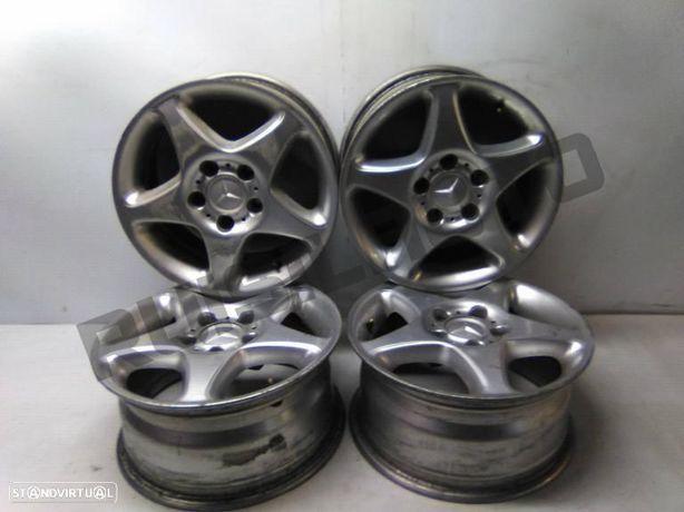 Conjunto De Jantes Alumínio R15 Mercedes-benz C 202 2.2 D