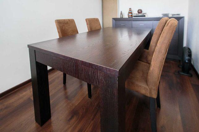 Duży, drewniany stół dębowy (bez krzeseł), prawdziwe drewno!!
