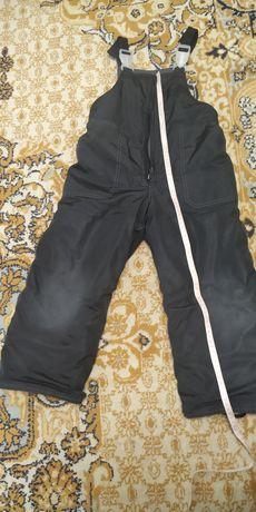 Теплые зимний комбинезон, штаны.