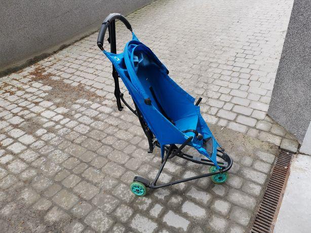 Wózek spacerówka Quinny Yezz niebieski Bold Blue 4.8kg lekki parasolka