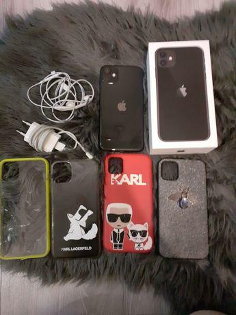 Iphone 11, 256GB, czarny, idealny, plus gratisy