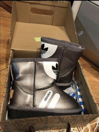 Детские Угги adidas зимние сапожки детские сапоги ботинки