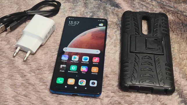 Xiaomi Mi 9T , 6/64GB Blue, зарядка\кабель\чехол