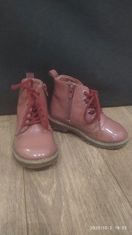 Детские ботиночки zara baby 22 размер
