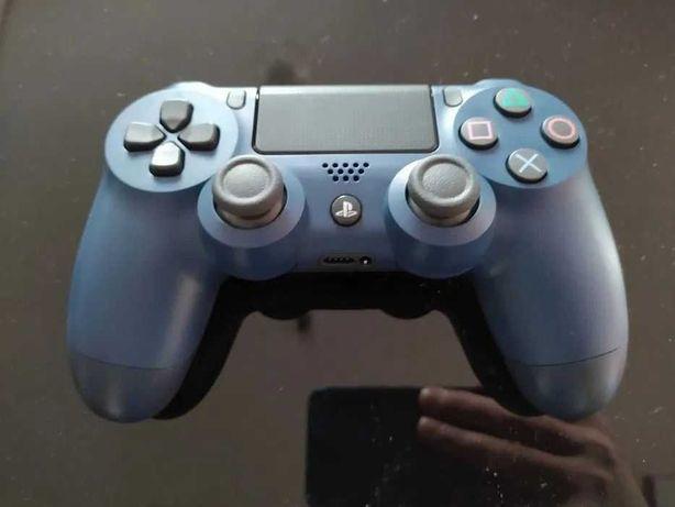 Pad PS4 Dualshock 4 V2 oryginał nowy ciemny niebieski