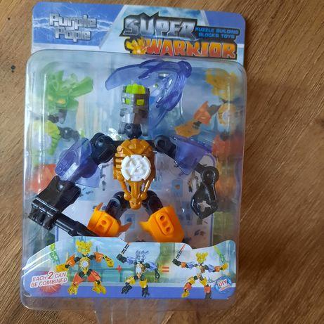 Робот трансформер лего воин ,новый