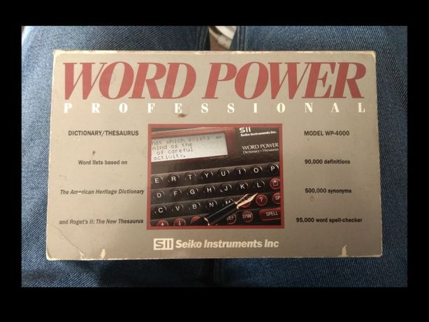 Słownik ang/ang Seiko Word Power Dictionary + Thesaurus (WP-4000)