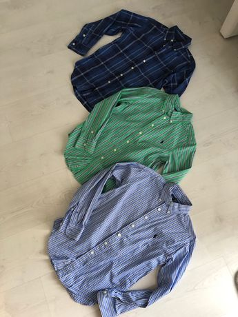 koszule Ralph Lauren 8-10 lat 140 cm