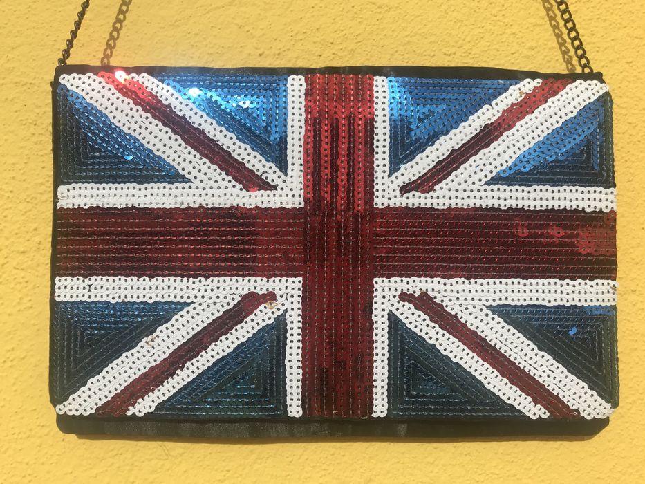 Pochette/Clutch Pepe Jeans Bandeira Inglaterra Olivais - imagem 1