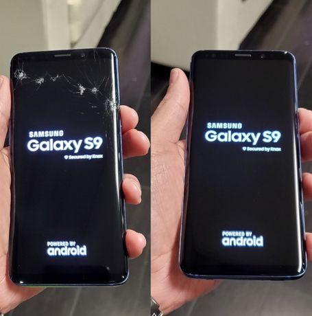 NAJTANIEJ! Wymiana szybki szyby Samsung S10 S8 S9 S7 A50 A51 A71 Note