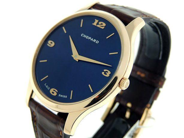 Klasyczny Zegarek z kolekcji firmy Chopard L.U.C - złoto au 18k