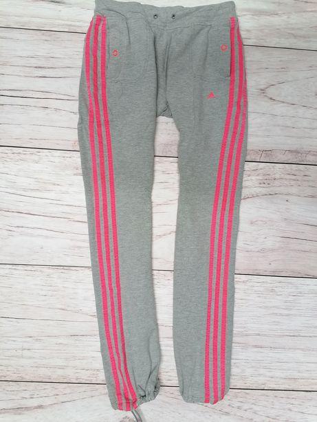 Dresy spodnie dresowe że sciagaczami bawełna Adidas Tiro S